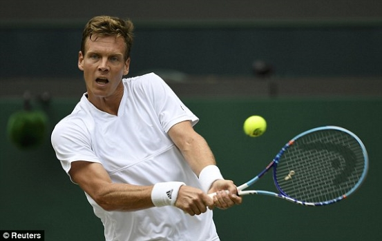 Berdych has power off both sides