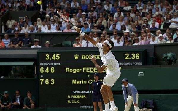 Federer's serve is critical to his chances