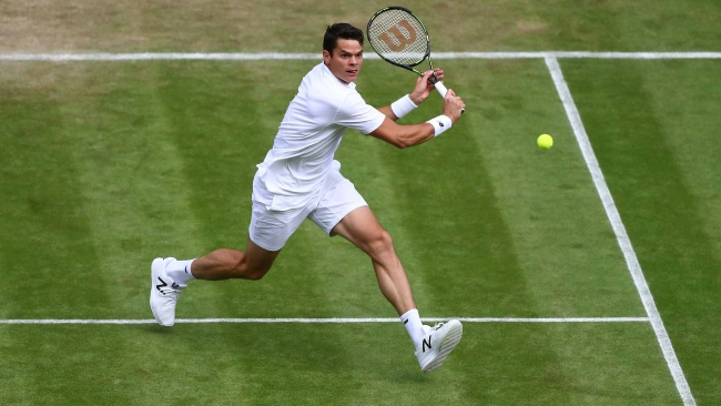 Raonic has come to the net more than virtually anybody else during the tournament
